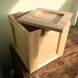 Dřevěná krabice na...